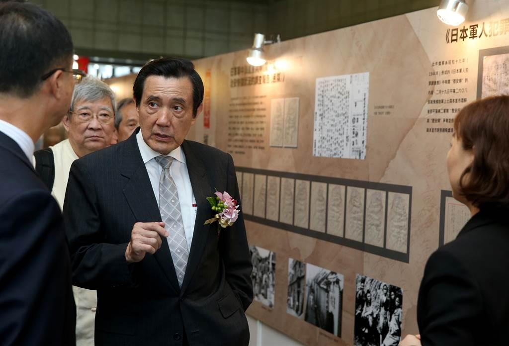 前總統馬英九。(資料照,王英豪攝)