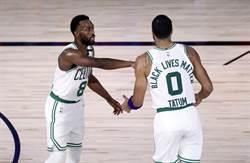 NBA》率先掰掰!塞爾提克4連勝橫掃七六人