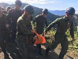 國軍吉普車搜救失聯11天屏科大研究生 險墜80m深谷駕駛輕傷