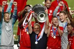 歐冠足球賽 拜仁11連勝完美封王寫歷史