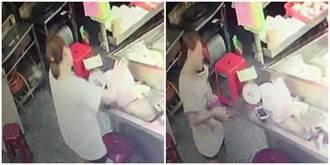 婦人攜孩摸走手機 小吃店老闆懇求:裡有過世奶奶的珍貴照片