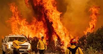野火燒毀「15個台北」!乾燥雷暴助長災情…加州恐再迎2颶風襲擊