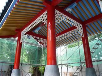 北港公園涼亭 訴說日式「手水舍」歷史