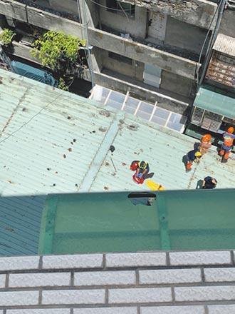爬窗取鑰匙 翁8樓墜落慘死