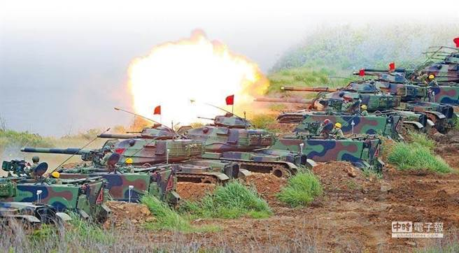圖為國軍漢光演習。(圖/本報資料照片)