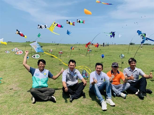 邁入第4年的「2020新竹市國際風箏節」將於本周末在新竹漁港熱鬧登場。(陳育賢攝)