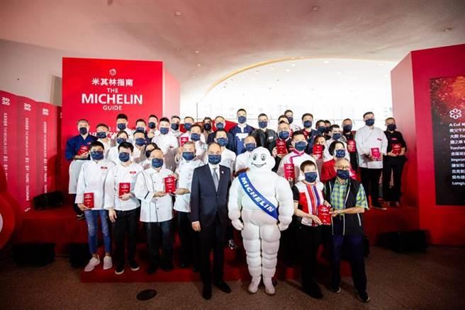 米其林指南今日公布《台北台中米其林指南 2020》完整名單。(圖/米其林指南提供)