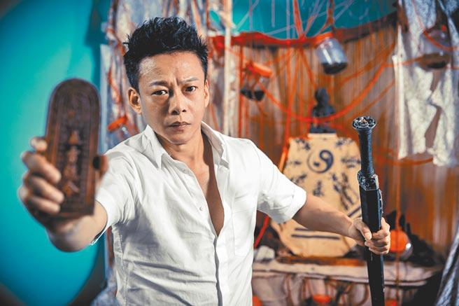 李康生首次拍恐怖片,表示希望各種類型電影都能多做嘗試。    (羅永銘攝)