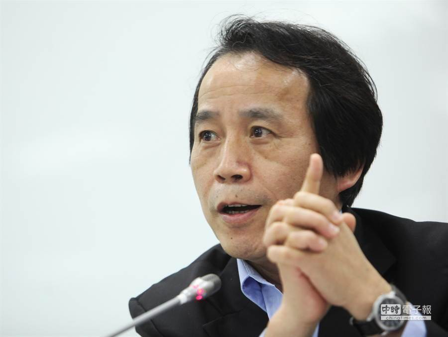 新任高雄市副市長林欽榮(見圖)。(林后駿攝)