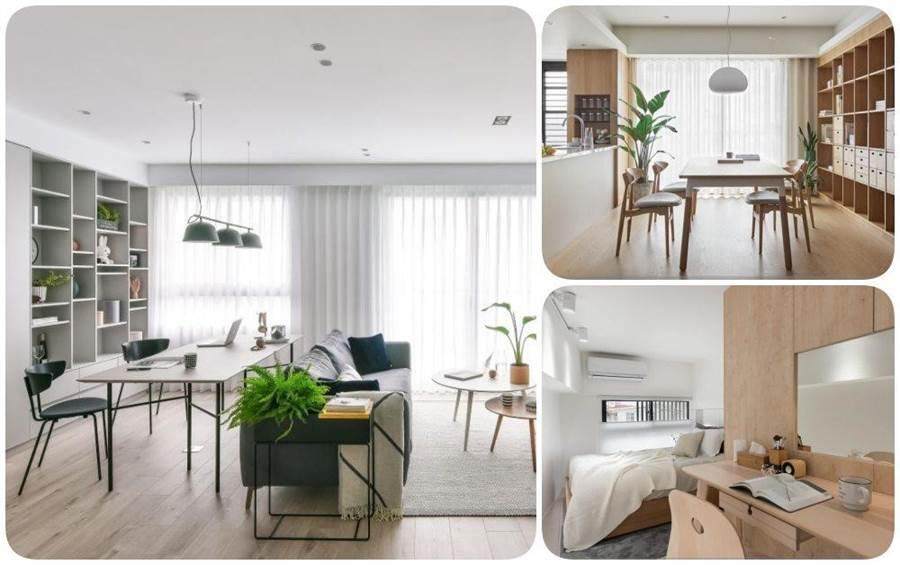 在家工作好愜意!客廳、餐廳、臥房三大居家場域的居家工作空間設計