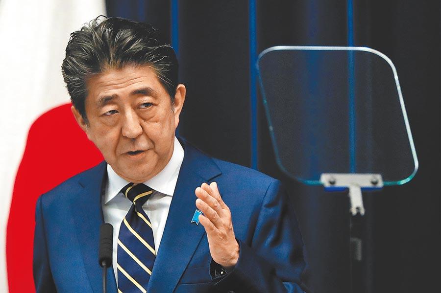 日本首相安倍。(路透)