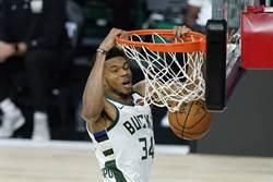 NBA》字母哥發飆 公鹿三連勝魔術聽牌