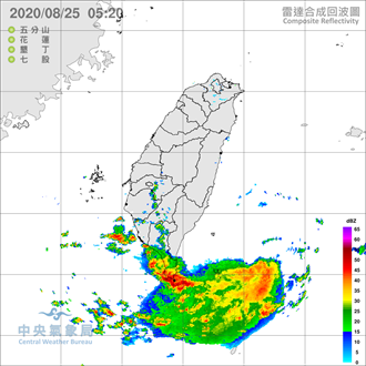 高屏大雨特報 明起三天嚴防雷雨彈 周末恐又有颱風