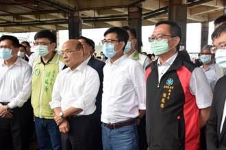 政府表揚公道伯  蘇揆:傳承經驗與方法 讓台灣更好