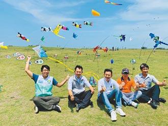 新竹風箏節 16米巨龍飛天