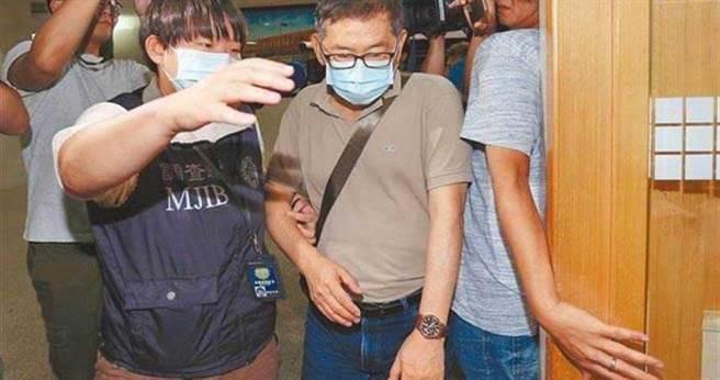 前調查局郭詩晃被檢方依貪汙罪嫌起訴,移審北院後獲50萬元交保。(圖/報系資料照)