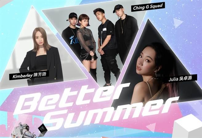 中華電信今(25)日宣布再度攜手kkbox打造第二場虛擬演唱會「HyperLIVE 2020 Better Summer」,多位超人氣歌手於8月28日晚上8點熱力開唱。(中華電信提供/黃慧雯台北傳真)