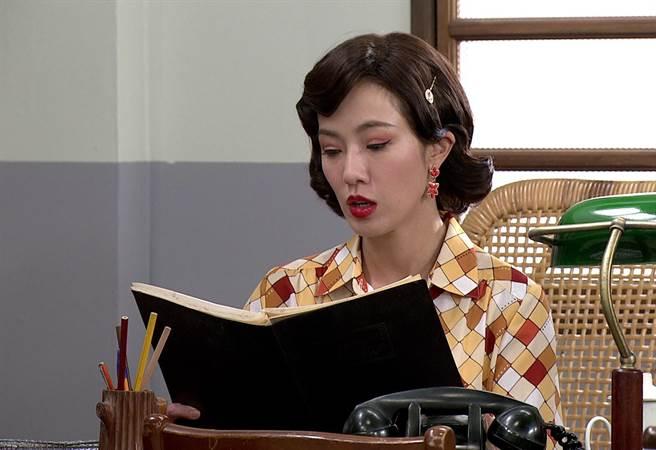 黃瑄在《生生世世》飾演小老婆彩琴。(台視提供)