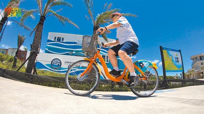 新北市公共自行車低,新北市議會民進黨團要求市府加強宣導,維護民眾權益。(新北市交通局提供/葉德正新北傳真)