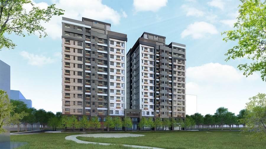 社會住宅由黑翻紅,成為促進區域發展關鍵(圖為中路一號社會住宅)。(圖由業者提供)