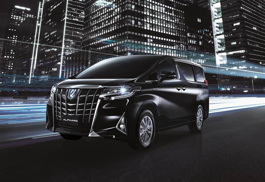 改油電再出擊 Toyota Alphard 286萬元開賣