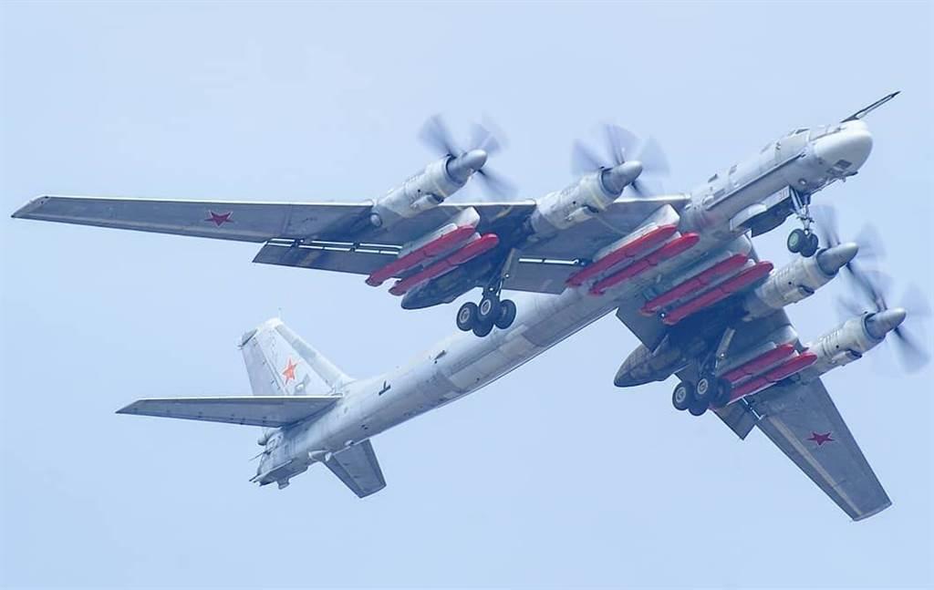 Tu-95MSM改良熊式轟炸機,可以攜帶到8枚巡弋飛彈。(圖/UAC)