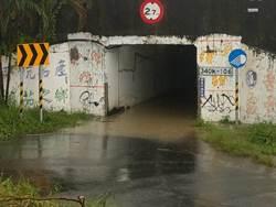 豪雨狂炸南台灣 北高雄8處積淹水