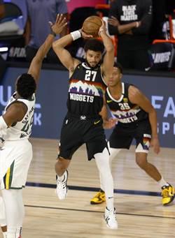 NBA》賈瑪莫瑞42分力挽狂瀾 金塊逆斬爵士保生機