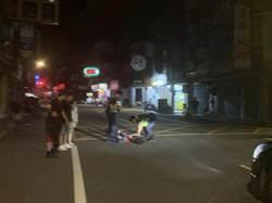 龍潭男街頭與攤商扭打、持刀傷人 勸架民眾也遭殃