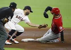 MLB》大谷翔平安打加盜壘 還練習守備