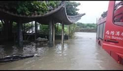一場暴雨狂襲高雄 網驚:淹水也「光復」了