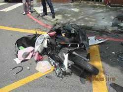 岡山休旅車撞機車 女騎士多處骨折傷重急送醫