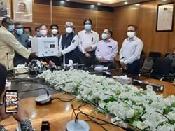 助孟加拉抗疫    台今贈14萬口罩及防疫物資