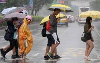 中南部7縣市豪、大雨特報 台南、高雄「一級淹水警戒」