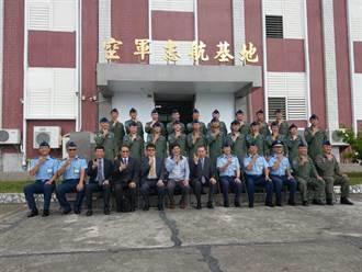 鐵人行程 軍友社李棟樑與空軍司令 兩天慰問全台空軍基地