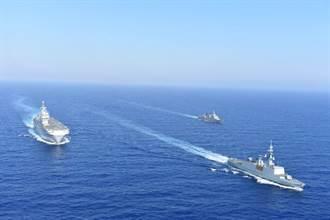 縱橫天下:劉必榮》東地中海三個紛爭同心圓