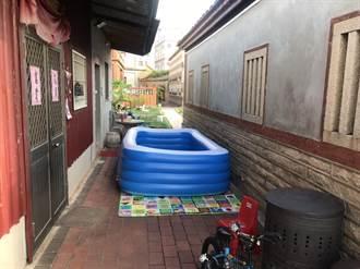 金門幼童充氣泳池溺水 消防隊成功搶救小生命