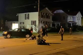 美威州抗議黑人遭警開槍致殘引發槍擊 2死1傷