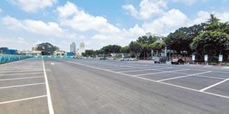 台南火車站熱區 增174席停車位