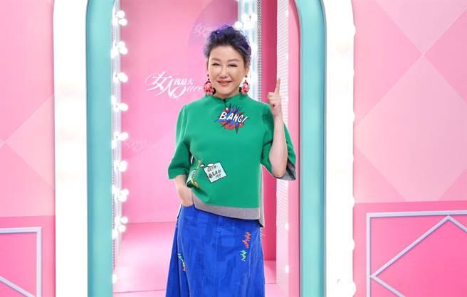 藍心湄入圍金鐘「生活風格節目主持人獎」。(TVBS提供)