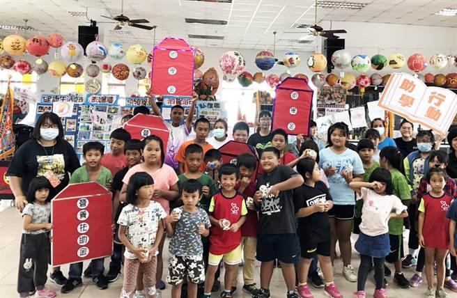 台灣世界展望會在新學期持續幫助台東3300名弱勢學童安心上學。(世展會提供/莊哲權台東傳真)