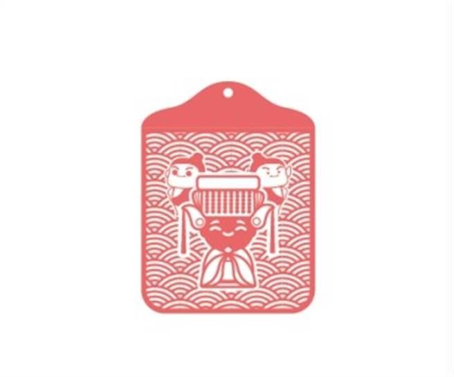 台灣學生得獎作品《大學個人銅獎‧媽祖平安符花燈》。(主辦單位提供)