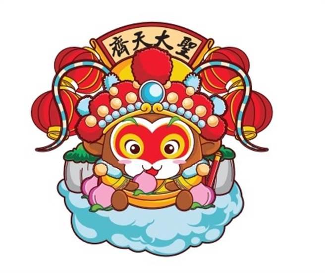 台灣學生得獎作品《高中團體金獎‧花菓山美猴王》。(主辦單位提供)