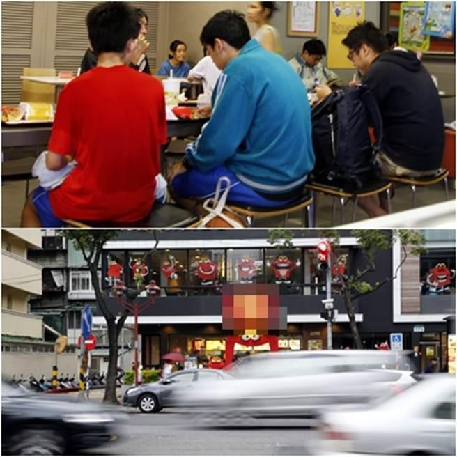 孤獨狼鄭捷砍人之前曾經與友人在江子翠站附近速食店聊天,友人曾極力勸阻他不要衝動做錯事,沒想到還是發生憾事。(中時資料庫)