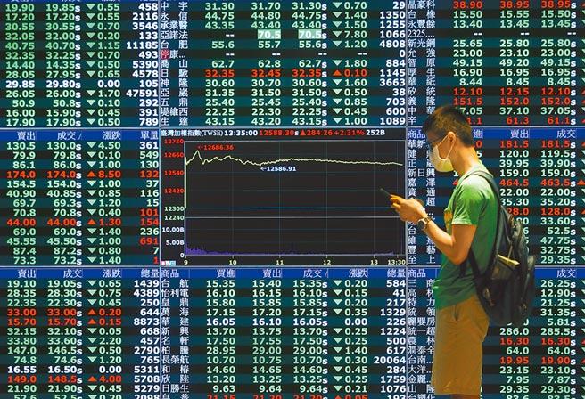 台北股市。(本報資料照片)