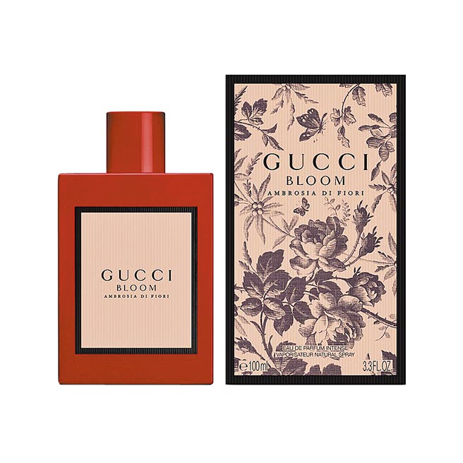 Gucci Bloom花悅馥意女性濃郁淡香精100ml,5300元。(Gucci提供)