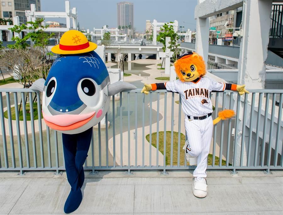 日本出道、紅回台灣 台南「魚頭君」連任南市吉祥物 - 寶島