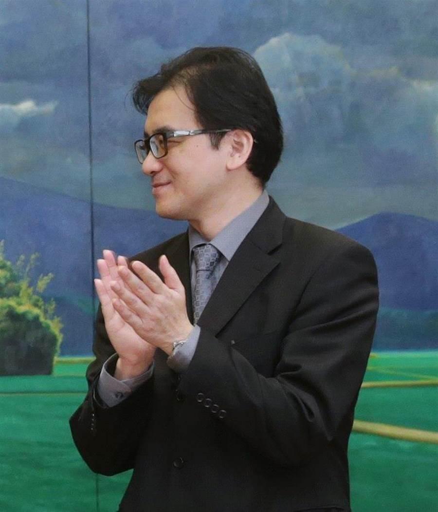 辭府副秘書長  劉建忻:因為這職務做夠久。本報資料照