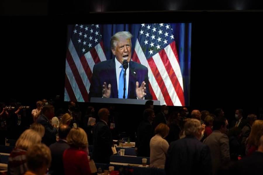 共和黨全代會(RNC)被川普視為拉抬選情的大力丸。(美聯社)