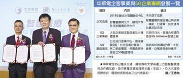 中華電組隊 拚5G智慧醫療